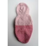Пуловер за Малко Куче - Розов- Ръчно Плетена