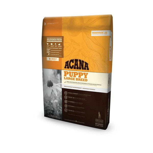 Acana Puppy Large Breeds Храна за Кучета Бебета от Големи Породи