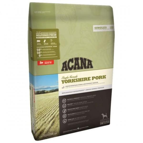 Acana Yorkshire Pork Adult - Храна за Израснали Кучета Йоркширски Териер със Свинско