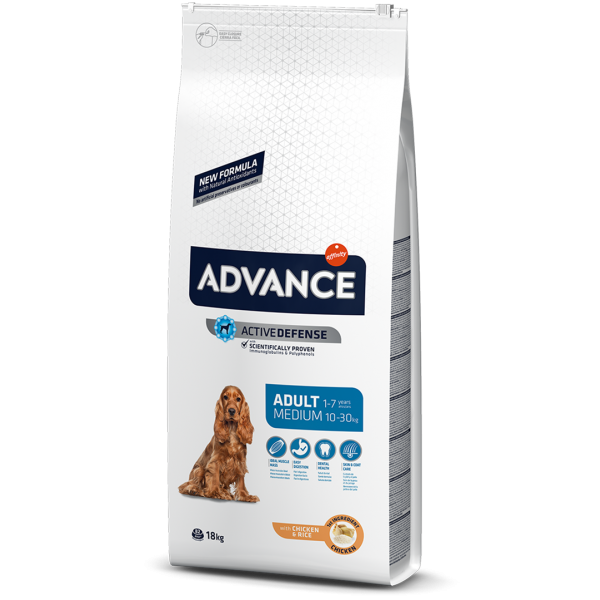 Advance Dog Medium Adult Храна за Кучета от Средни Породи