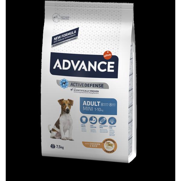 Advance Dog Mini Adult Храна за Кучета от Мини Породи