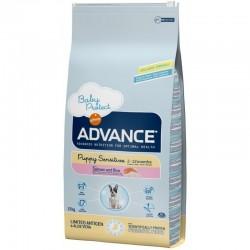 Advance Dog Puppy Sensitive Храна за Чувствителни Кученца и Бременни със Сьомга
