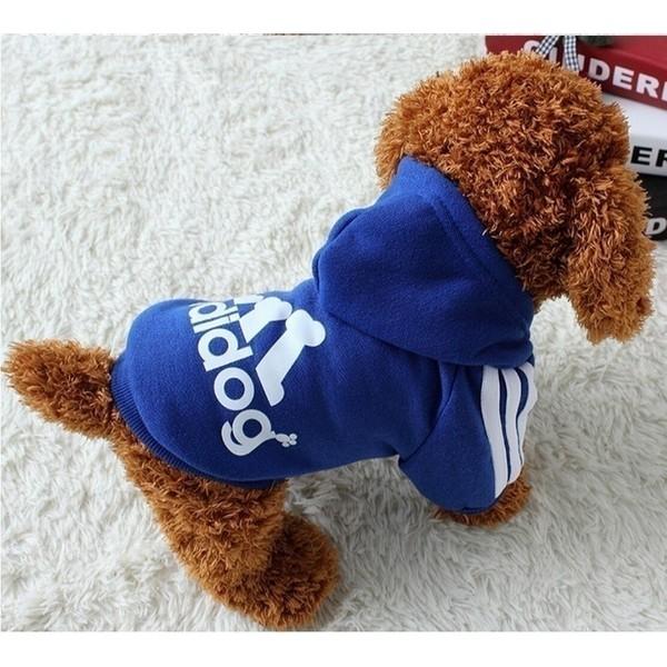 Adidog Coat Soft Cotton Анцуг за Малко Куче