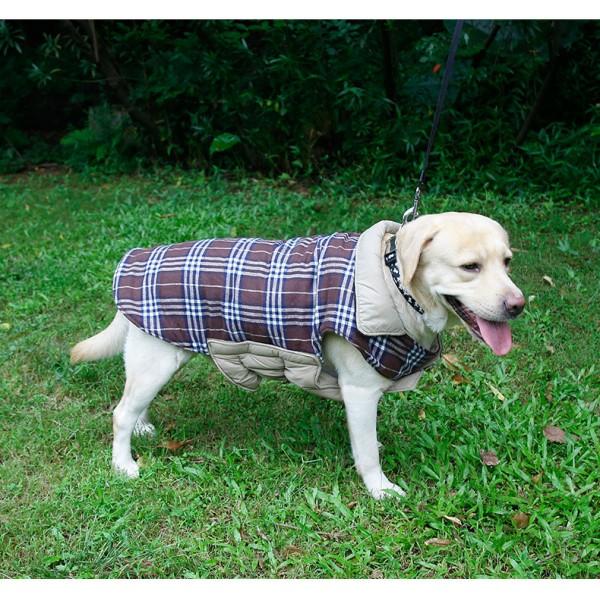 Winter Jacket Waterproof Reversible Dog Coat Soft Зимно Яке за Куче
