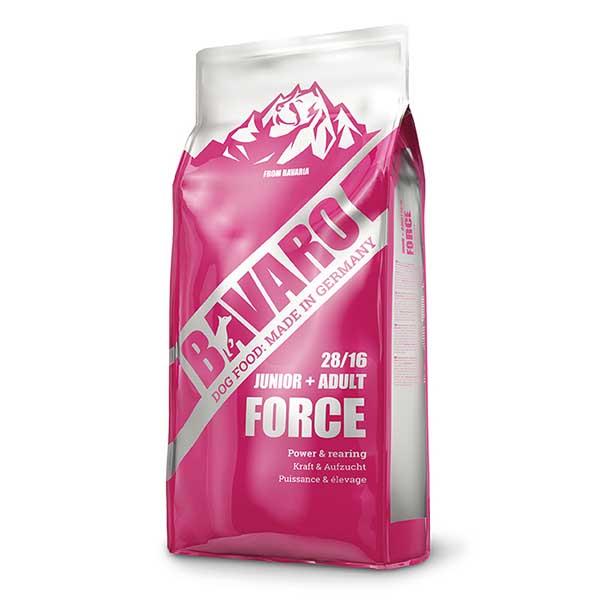 Bavaro Force - Пълноценна Храна за Кучета с Високо Енергийно Съдържание, Подходяща за Кучета с Ежедневно Натоварване