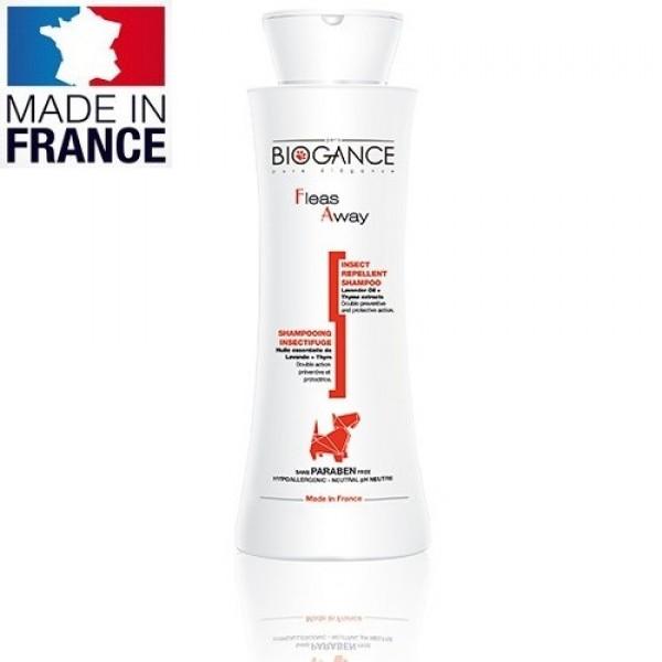Biogance Fleas Away Shampoo - Репелентен Шампоан за Кучета