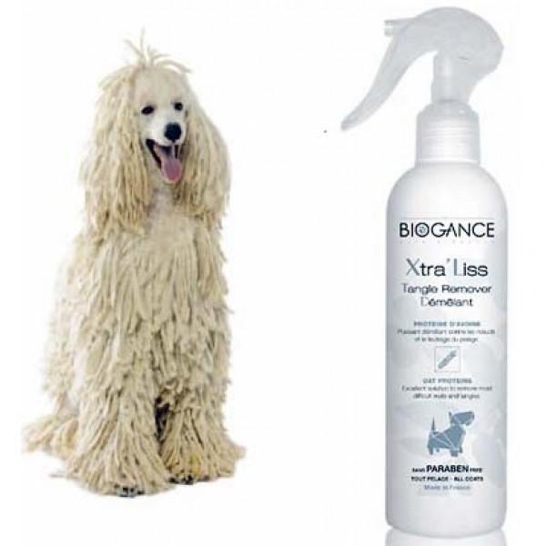 Biogance Xtra Liss Spray - Спрей за Кучета за Лесно Разресване на Сплъстени Възли по Козината