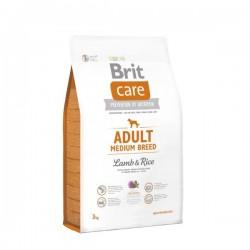 Brit Care Adult Medium Lamb & Rice - Брит Храна за Възрастни Кучета от Средни Породи