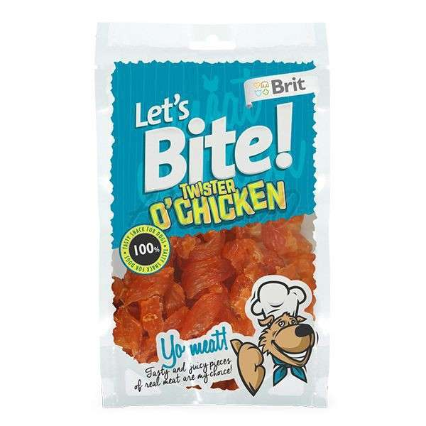 Brit Care Let's Bite Twister - Brit с пилешко месо