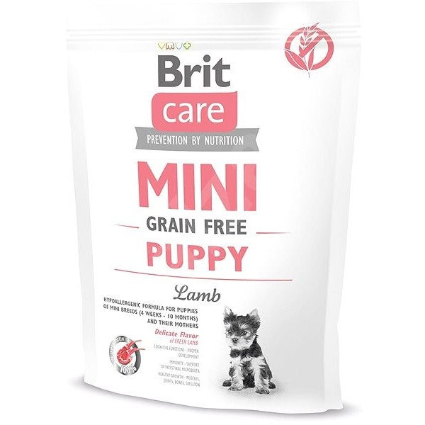 Brit Care Mini Puppy with Lamb - Храна за Куче с Агнешко