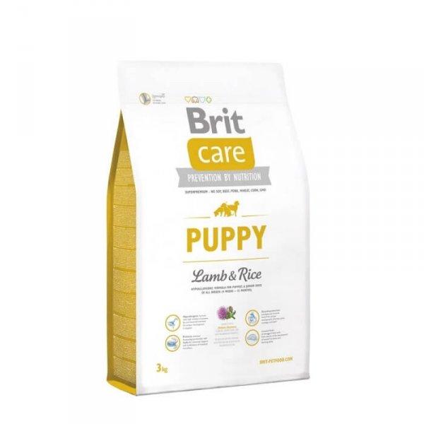 Brit Care Puppy - Брит Суха Храна за Подрастващи Кучета с Агнешко и Ориз