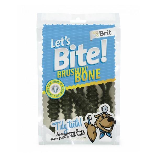 Brit Let's bite Bite Brushin' Bone - Brit ментови кокалчета Комплект 3 бр.