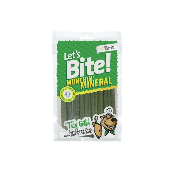 Brit Lets Bite Munchin' Mineral - Brit минерали за здрави зъби 3 бр.