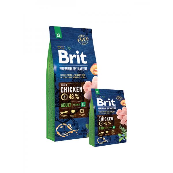 Brit Premium Adult XL - Брит Премиум Храна за Възрастни Кучета от Много Големи Породи (45 - 90 кг.)