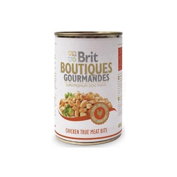 Brit Premium BOUTIQUES Gourmandes chicken - Пълноценна храна хапки с пиле Комплект 3 бр.