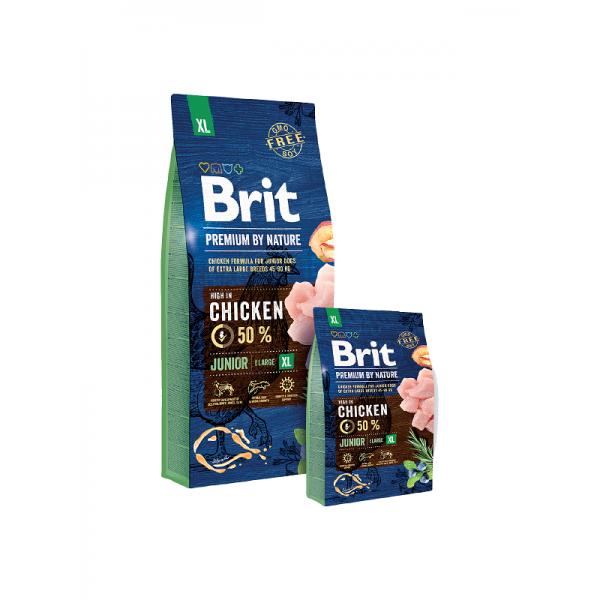 Brit Premium Junior XL - Брит Премиум Храна за Подрастващи Кученца от Много Големи Породи