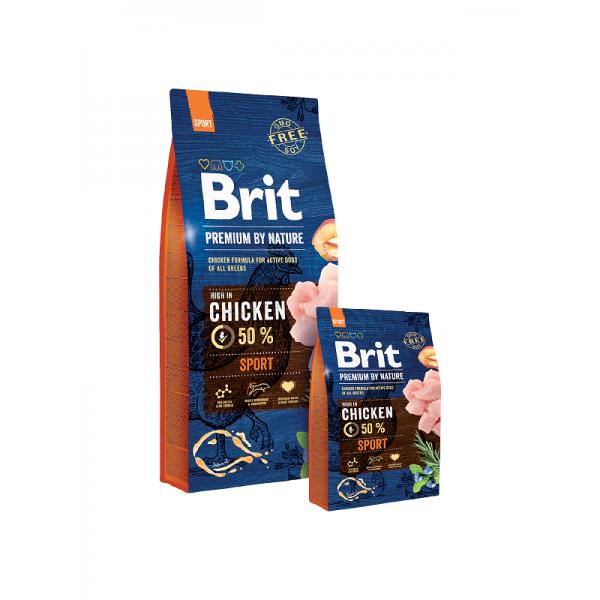 Brit Premium Sport - Брит Храна за Кучета с Високи Енергийни Нужди