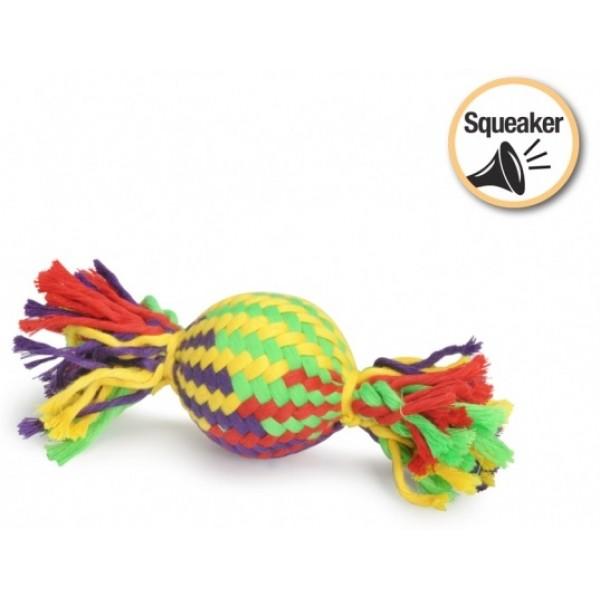 Играчка за Кучета Camon Dog Toy Squeaker Bonbon Писукаща Бонбон