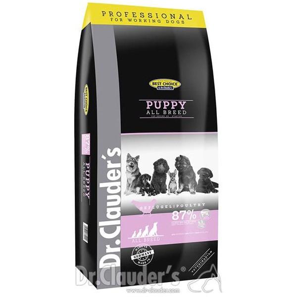 Dr. Clauder's Best Choice Super Premium Puppy AB – Супер премиум суха храна за малки кученца от всякакви породи 20кг.