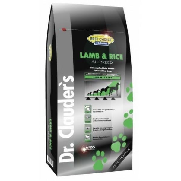 Dr. Clauder's Lamb- Rice - с агнешко и ориз за всички породи кучета