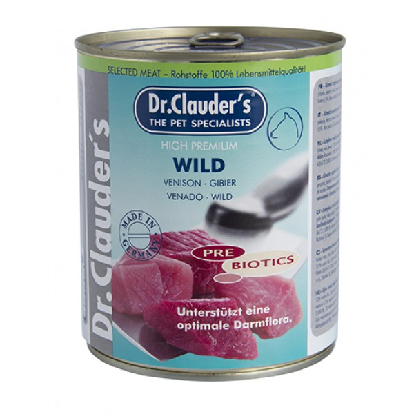 Dr. Clauder's Selected Meat Wild - с месо от дивеч /Pre Biotics/