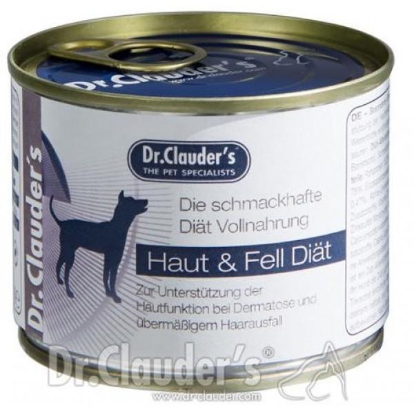 Dr. Clauder's Super Premium FSD Fur and Skin Diet - терапевтична диетична храна за здрави кожа и козина при кучета с дерматити 400 gr