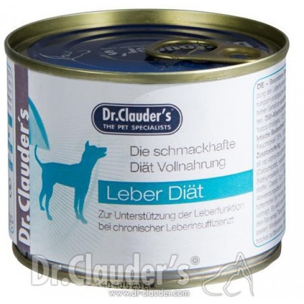 Dr. Clauder's Super Premium LPD Liver Diet - терапевтична диетична храна за кучета с хронична чернодробна недостатъчност 400 gr