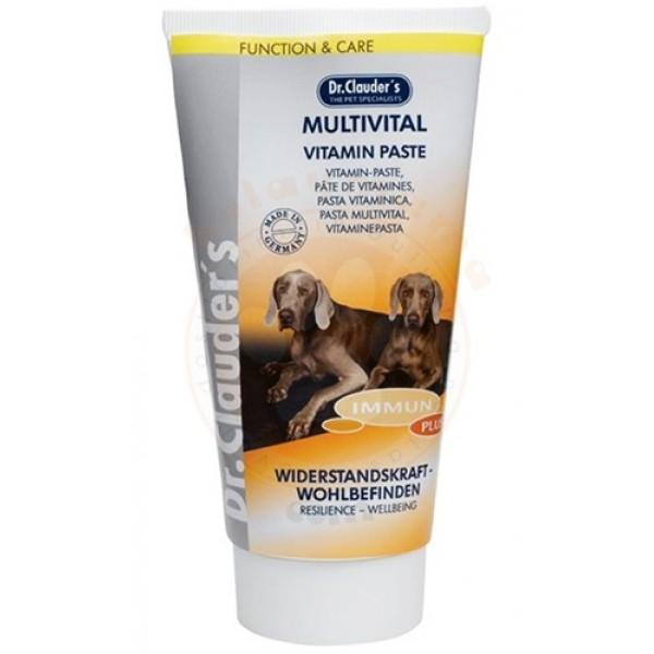 Хранителна добавка за кучета Dr. Clauder's Multivital - Vitamin Paste - Паста с витамини за кучета
