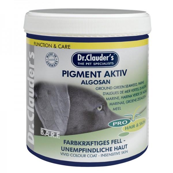 Хранителна добавка за кучета Pigment Active Algosan Dr. Clauder's Food supplement – за по-добра пигментация с дънни зелени водорасли