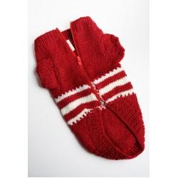 Плетена Дрешка - Ръчно Изработена Бордо