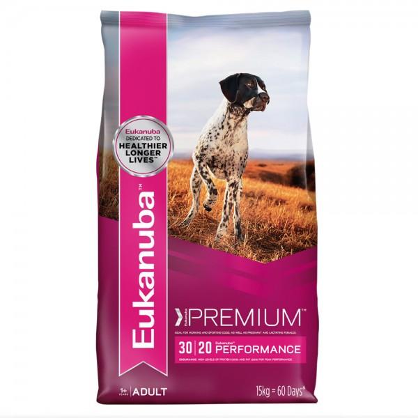 Eukanuba Premium Performance Working & Endurance Възрастни над 1 год. с Повишени Енергийни Нужди, Бременни 15 кг.