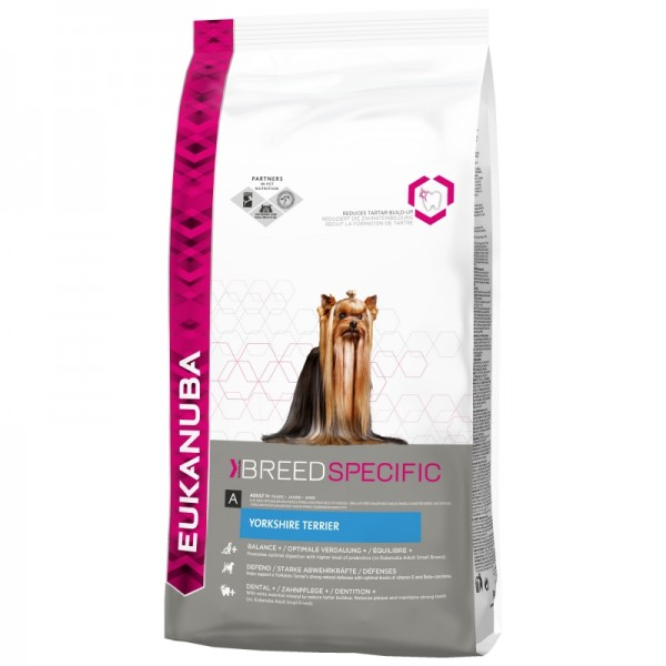 Eukanuba Breed Specific Yorkshire Terrier Adult - Еукануба Храна за Кучета от Порода Йоркширски Териер