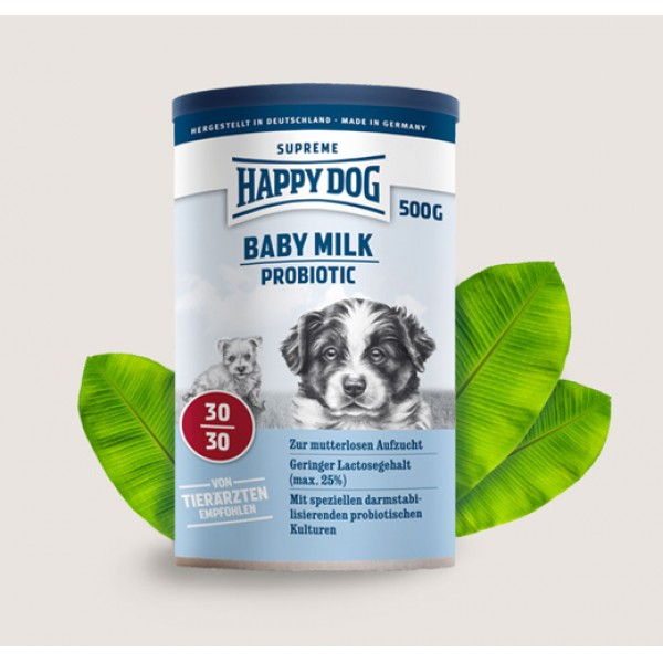 Happy Dog Baby Milk Probiotic Хепи Дог Бейби Пробиотично Мляко - Заместител на Майчиното Мляко