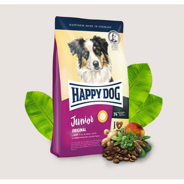 Happy Dog Junior Original Хепи Дог Джуниър Оригинал за Млади Кучета над 7 Месеца