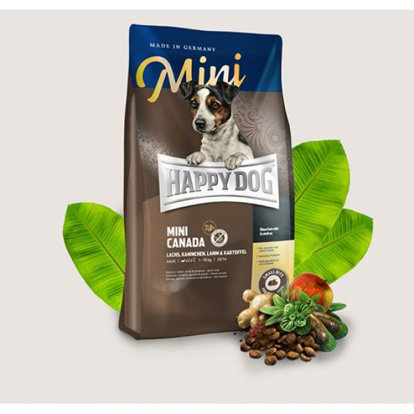 Happy Dog Mini Canada Хепи Дог Мини Канада за Чувствителни Млади и Активни Възрастни Кучета от Дребни Породи