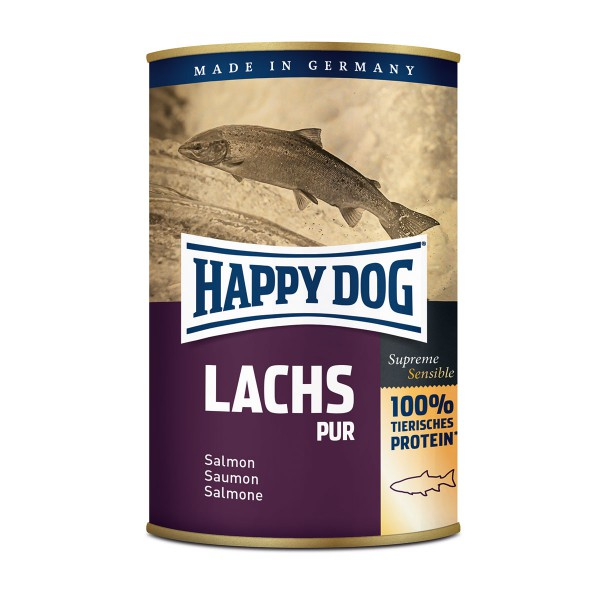 Happy Dog Salmon Pur Хепи Дог Консерва с Месо от Сьомга