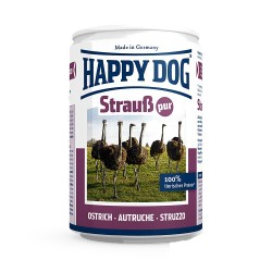 Happy Dog Strauss Pur Хепи Дог Консерва с Щраусово Месо