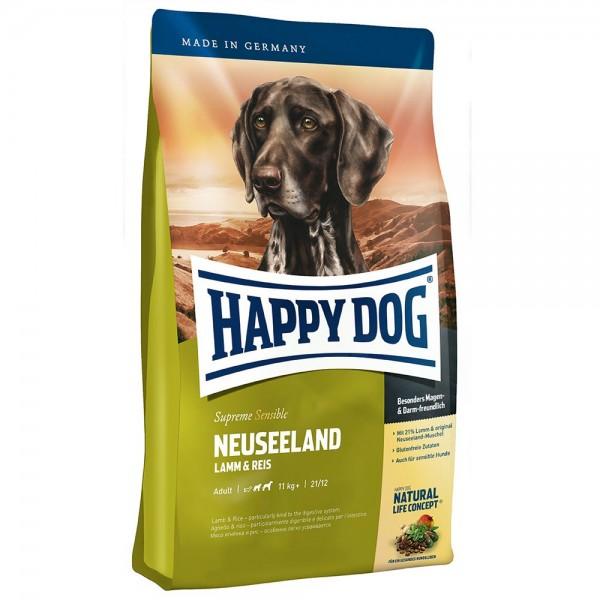 Happy Dog Supreme Neuseeland Хепи Дог Супер Премиум Нова Зеландия за Чувствителни Кучета от Средни и Големи Породи