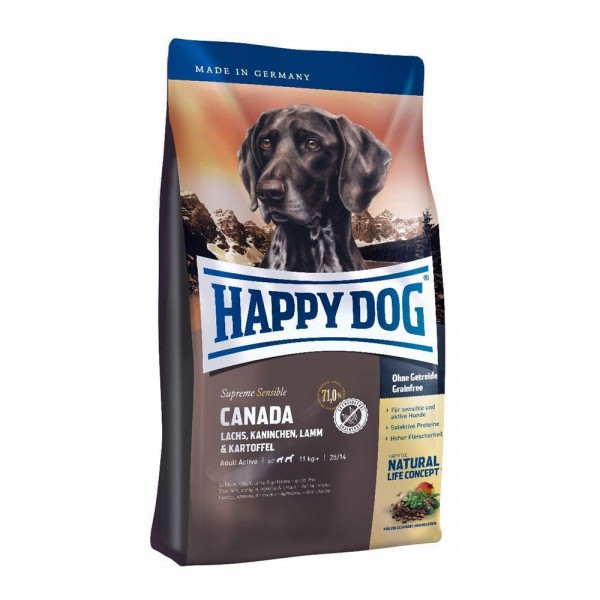 Happy Dog Supreme Sensible Canada Хепи Дог Супер Премиум Сенсибъл Канада за Възрастни над 1 год. Кучета от Средни и Големи Породи
