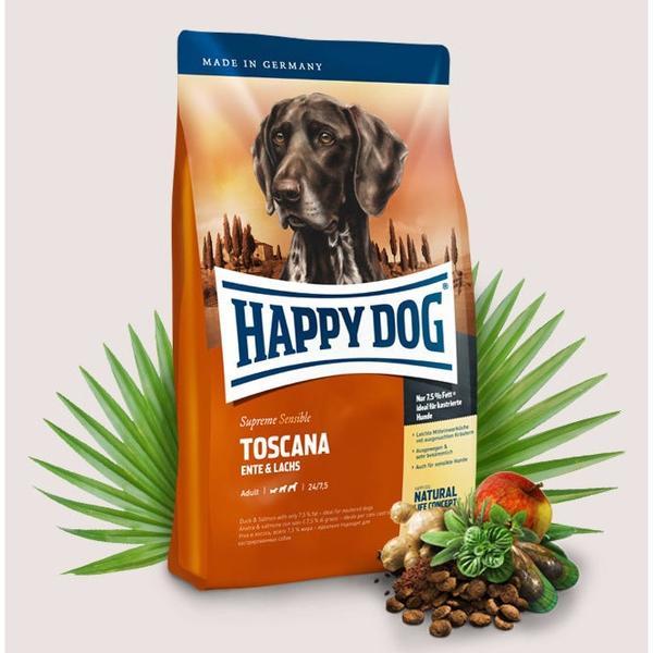 Happy Dog Supreme Toscana Хепи Дог Супер Премиум Тоскана за Пораснали Чувствителни Кучета