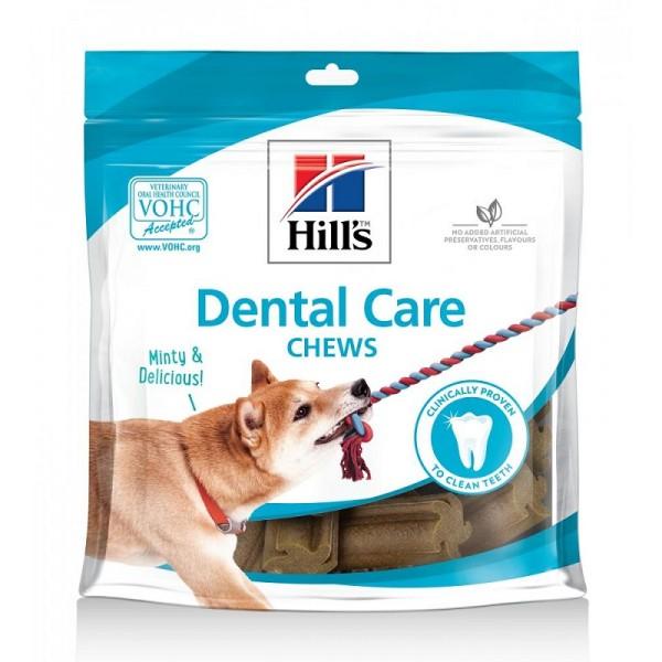 Hill's Dental Care Chews Mint Taste - Хилс Дентални Лакомства за Куче с Ментов Вкус