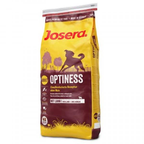 Josera Optiness Храна за Израснали Кучета с Картофи и Агнешко