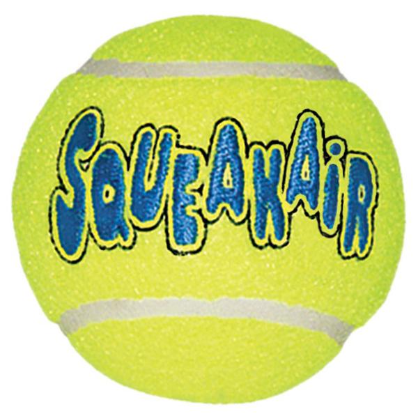 KONG Air Squeaker Ball Bulk - кучешка играчка тенис топка