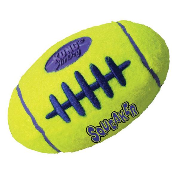 KONG Air Squeaker Football - Играчка за куче топка