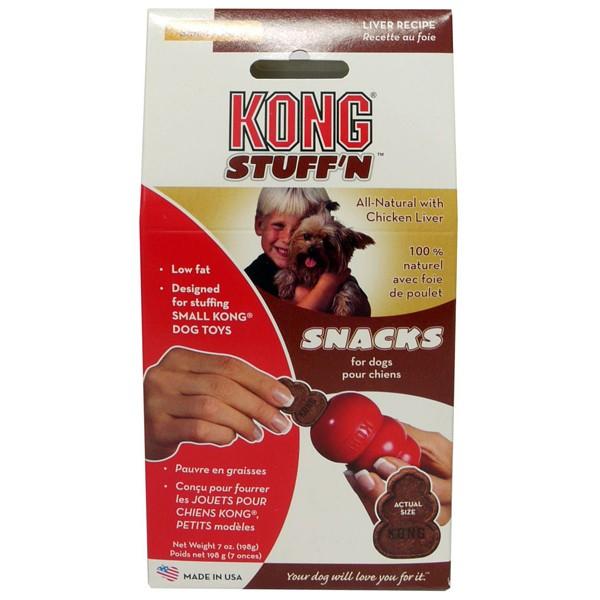 KONG Snacks Liver - Лакомство с Дроб