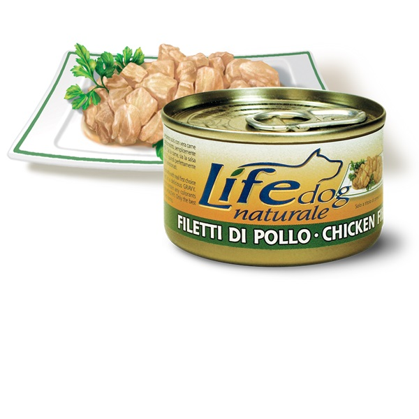 Life Natural Lifedog Chicken Fillets - с пилешко филе 90 грама