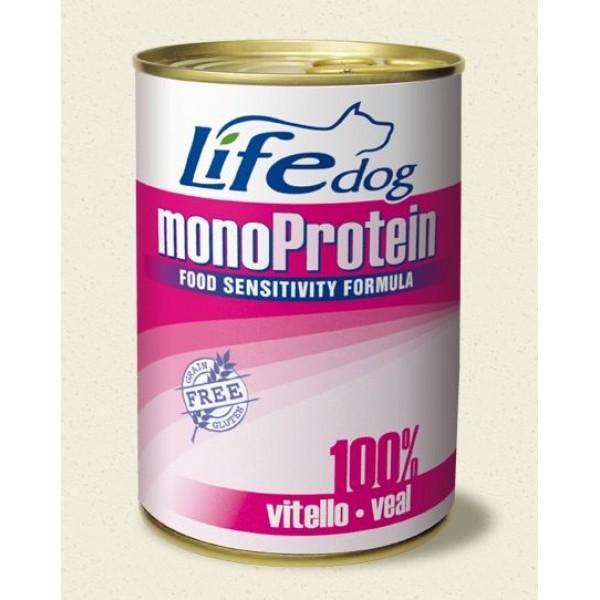 Life Natural Lifedog Monoprotein Veal - с телешко месо /монопротеин / 400 грама