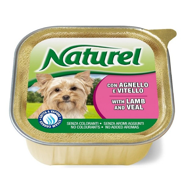 Life Natural Naturel Lamb, Veal - пастет с телешко и агнешко месо 150 грама