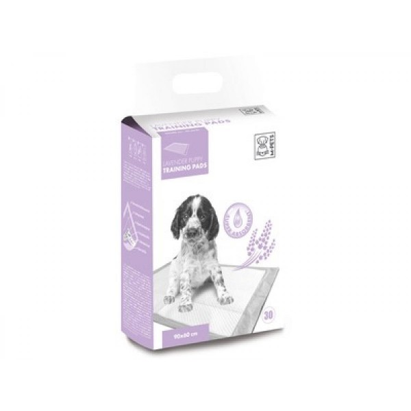 M-Pets Lavender Puppy Training Pads - Подложки с Аромат на Лавандула за Куче 30 бр.