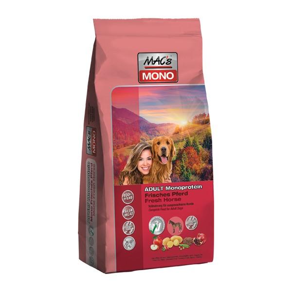 Mac's Mono Fresh Horse - Конско месо за кучета податливи към алергии
